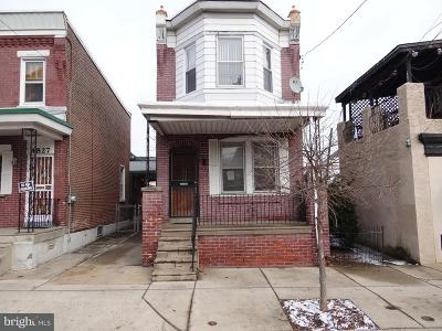Philadelphia Single Family Home For Sale: 4829 Princeton Avenue