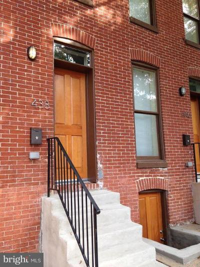 Baltimore City Rental For Rent: 438 E Federal Street