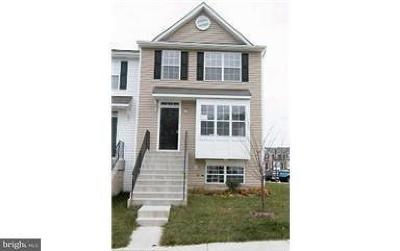 Upper Marlboro Townhouse For Sale: 5306 Thomas Sim Lee Terrace