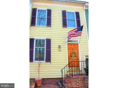 Alexandria Townhouse For Sale: 508 Oronoco Street