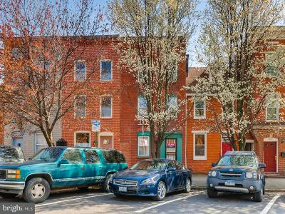 Fells Point Townhouse For Sale: 1807 Bank Street