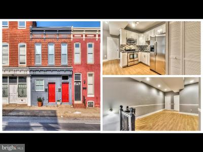 Baltimore City Rental For Rent: 2120 E Fayette Street #2