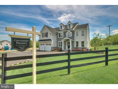 Wrightstown Single Family Home For Sale: Lot #4 Bennett Lane