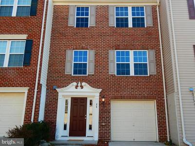 Stafford Townhouse For Sale: 74 Hunting Creek Lane