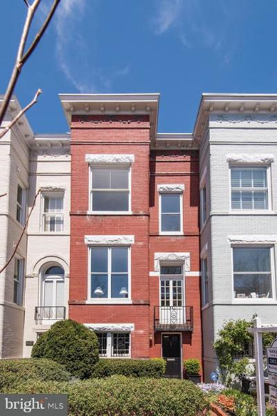 Georgetown Townhouse For Sale: 3319 P Street NW