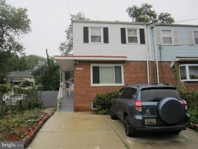 Silver Spring MD Single Family Home For Sale: $297,500