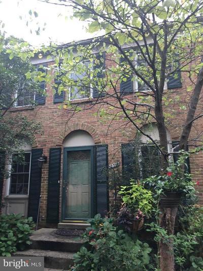 Lake Ridge Townhouse For Sale: 12319 Antietam Road