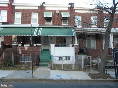 Baltimore Townhouse For Sale: 706 Bartlett Avenue