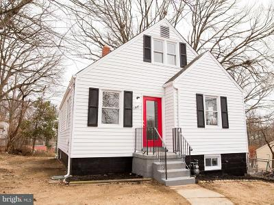 Capitol Heights Single Family Home For Sale: 1618 Pacific Avenue