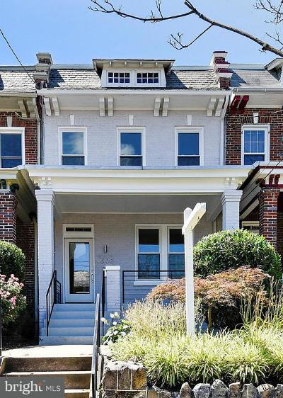 Washington Townhouse For Sale: 608 Emerson Street NW