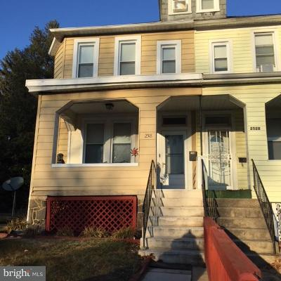 Baltimore Townhouse For Sale: 2518 Albion Avenue