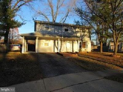 Waldorf MD Single Family Home For Sale: $225,000