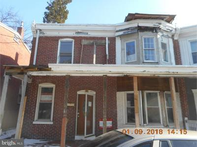 New Castle County Single Family Home Under Contract: 102 Fulton Street