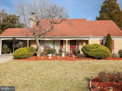 Fort Washington Single Family Home For Sale: 7910 Winnsboro Drive