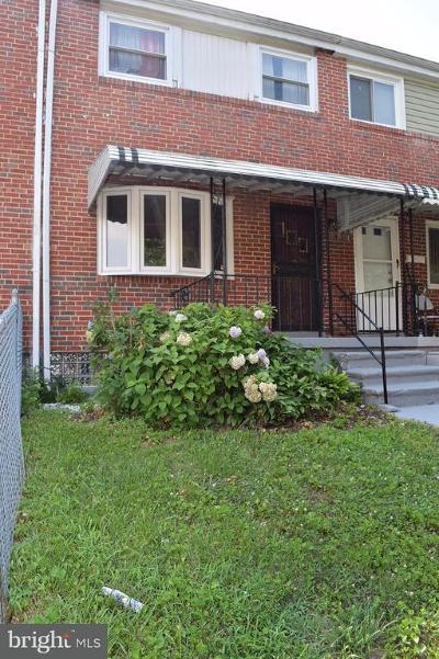 Baltimore City Rental For Rent: 2114 Koko Lane
