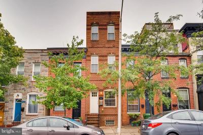 Fells Poi Nt, Fells Point, Fells Point/Hopkins, Fells Pt./Hopkins Townhouse For Sale: 308 Collington Avenue
