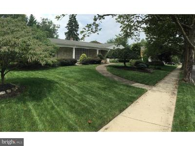 Cherry Hill Single Family Home For Sale: 1301 Media Road