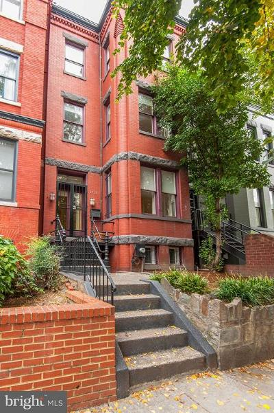 Townhouse For Sale: 1431 R Street NW