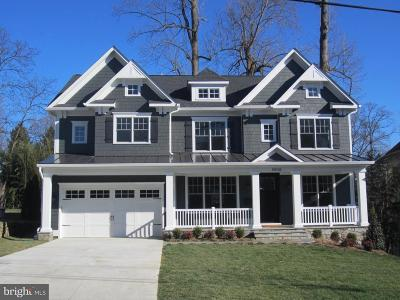 Bethesda Single Family Home For Sale: 8303 Whitman Drive