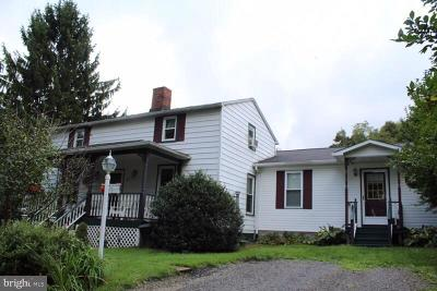 Frostburg Single Family Home For Sale: 42 Depot Street