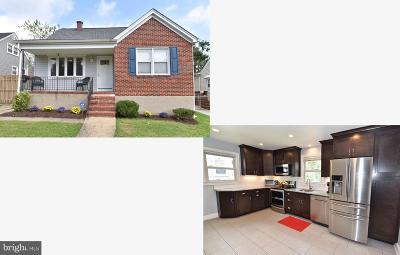 Halethorpe Single Family Home For Sale: 2920 Georgia Avenue