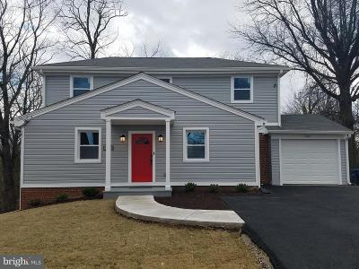Alexandria VA Single Family Home For Sale: $774,999