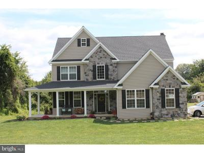 Gilbertsville Single Family Home For Sale: 2884 Fagleysville Road