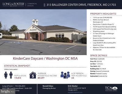 Commercial For Sale: 313 Ballenger Center Drive