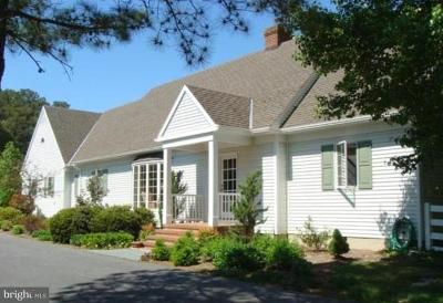 Talbot County Single Family Home For Sale: 8382 Aveley Farm Road