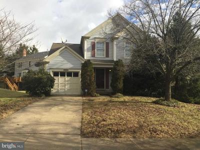 Laurel Single Family Home For Sale: 8806 Admiral Drive