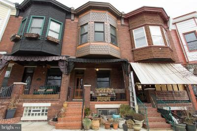 Baltimore City Townhouse For Sale: 423 Ellwood Avenue S