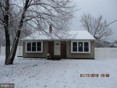 Glassboro Single Family Home For Sale: 1204 East Boulevard