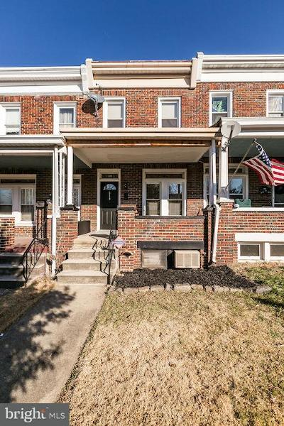 Baltimore Townhouse For Sale: 318 Washburn Avenue