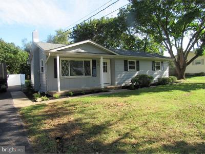 Vineland Single Family Home For Sale: 92 Strawberry Avenue