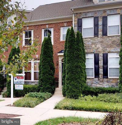 Clarksburg Townhouse For Sale: 12805 Short Hills Drive