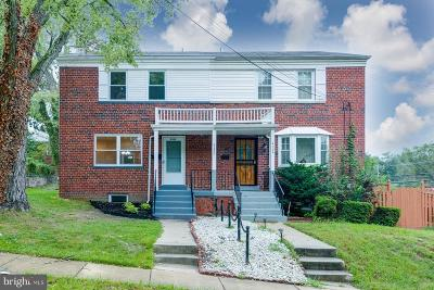 Temple Hills Single Family Home For Sale: 4322 23rd Parkway
