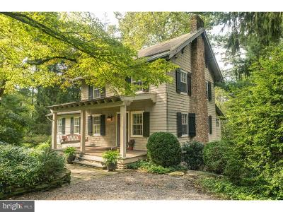 Solebury Single Family Home For Sale: 106 Old Lane