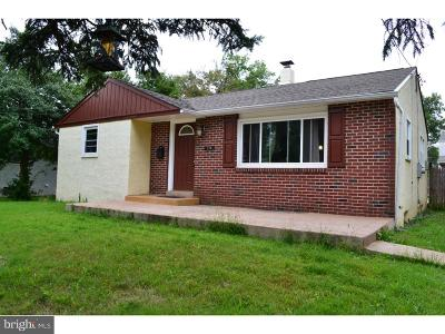 Montgomery County Single Family Home For Sale: 730 Willow Street