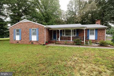 Caroline County Single Family Home For Sale: 14288 Devils Three Jump Road