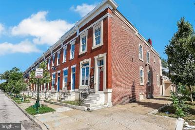 Baltimore Townhouse For Sale: 2942 Fayette Street