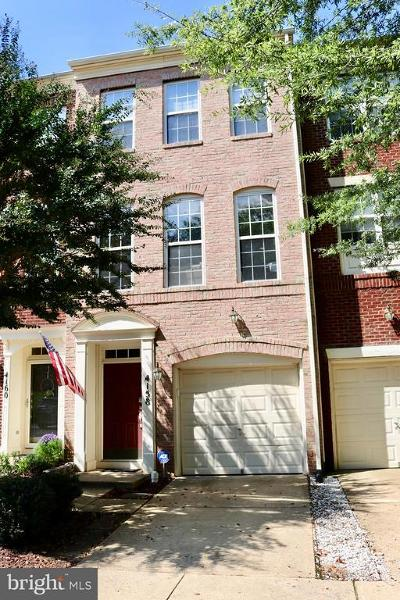 Fairfax, Fairfax Station Townhouse For Sale: 4158 Timber Log Way