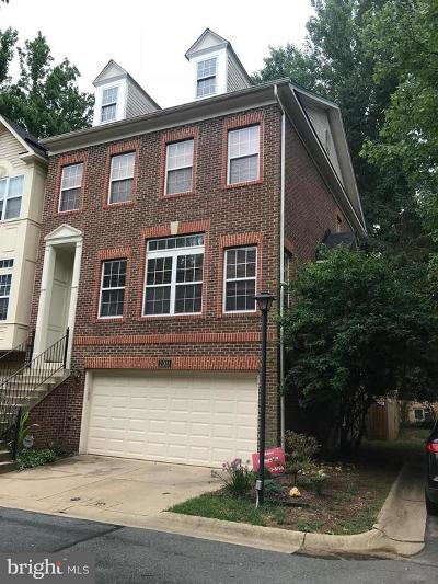 Rockville Townhouse For Sale: 2011 Ashleigh Woods Court