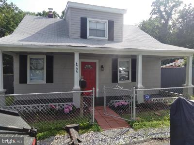 Capitol Heights MD Single Family Home For Sale: $239,900