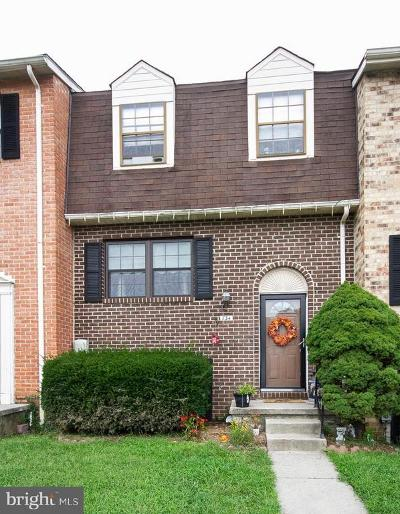 Baltimore Townhouse For Sale: 734 Wilton Farm Drive