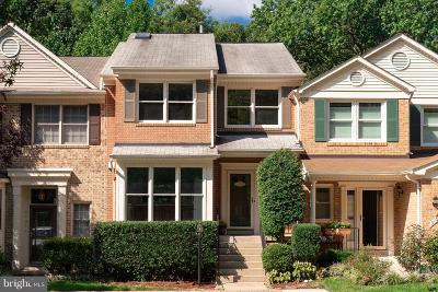 Burke, Springfield Townhouse For Sale: 9103 Golden Sunset Lane