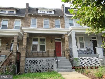 Washington DC Townhouse For Sale: $650,000