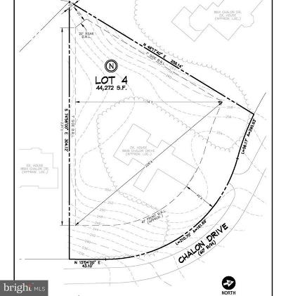 Bethesda Residential Lots & Land For Sale: 8808 Chalon Drive