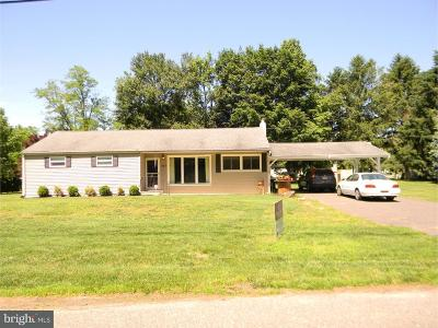 Franklinville Single Family Home For Sale: 527 Fries Mill Road
