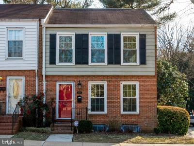 Crofton Townhouse For Sale: 1601 Dryden Way