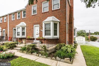 Baltimore Townhouse For Sale: 1608 Loch Ness Road